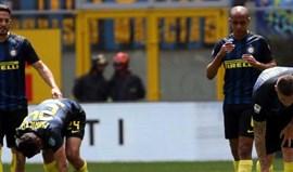 Iemmello bisa na vitória do Sassuolo na visita ao Inter Milão