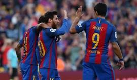 Barcelona goleia em Las Palmas com hat trick de Neymar
