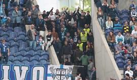 Claque Colectivo 95 fala em opressão e explica saída a meio do jogo do FC Porto