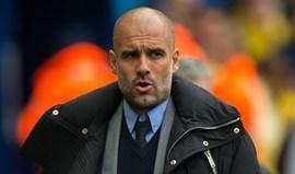 Guardiola: «Num grande clube já tinha sido despedido»
