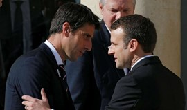 Emmanuel Macron apoia candidatura de Paris aos Jogos de 2024