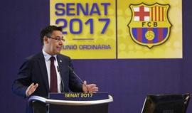 Presidente do Barcelona diz que clube não pode virar costas à situação na Catalunha
