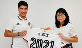 Valencia segura jovem promessa até 2021