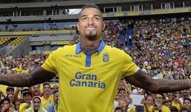 Kevin-Prince Boateng renova com os Las Palmas até 2020