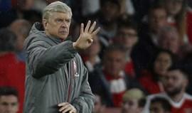 Futuro de Wenger no Arsenal só depois do final da Taça de Inglaterra