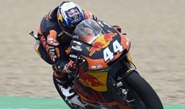 Moto2: Miguel Oliveira com o 13.º tempo nos treinos livres em França