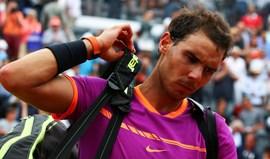 Rafael Nadal afastado nos 'quartos' do Masters 1000 de Roma