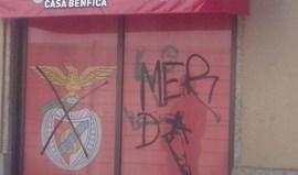 Casa do Benfica de Mortágua vandalizada