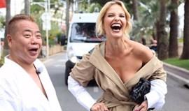 Cristina Ferreira ao estilo Kim Kardashian em Cannes