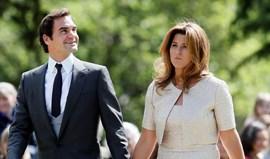Federer trocou a raqueta pelo smoking e foi ao casamento do ano