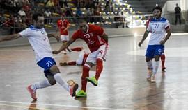 Benfica volta a vencer Burinhosa (0-4)