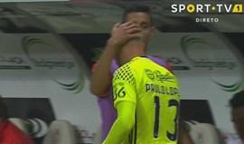 Paulo Lopes: do beijinho de André Almeida à euforia quando pisou o relvado