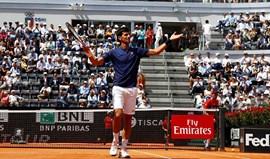 Djokovic bate Del Potro e Thiem no mesmo dia rumo à final de Roma
