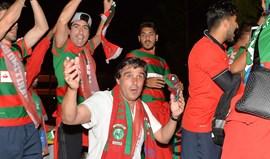 O Marítimo garantiu a Liga Europa e a festa foi assim...