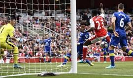 Vitória do Arsenal insuficiente para chegar à Champions