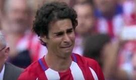 Tiago despediu-se em lágrimas do Atlético Madrid