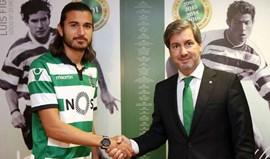 Mattheus: «Darei o máximo para que o Sporting seja campeão português»