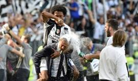 Juventus confirma Cuadrado até 2020