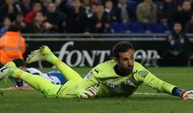 Diego López deixa AC Milan definitivamente e continua no Espanyol