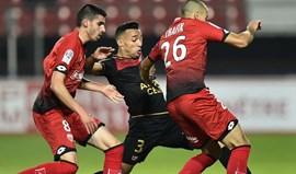 Treinador do Guingamp admite contratar Marçal em definitivo