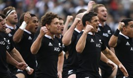 All Blacks distinguidos com Prémio Princesa das Astúrias dos Desportos