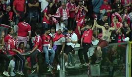 Tudo sobre a festa do Benfica no Bessa