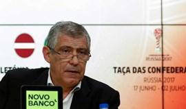 Taça das Confederações é zero para Fernando Santos... mas só por agora