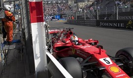 Vettel lidera segunda sessão de treinos livres no Mónaco