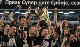 Sérvia: Partizan festeja dobradinha