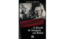Nova edição de livro de João Gabriel sobre presidência de Sampaio