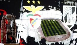 Como foi o dia de Benfica e V. Guimarães antes da final