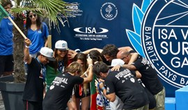 Portugal é vice-campeão do mundo de surf