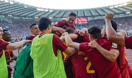 Roma garante 2.º lugar no adeus a Totti