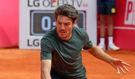 João Domingues na 2.ª ronda do challenger de Vicenza