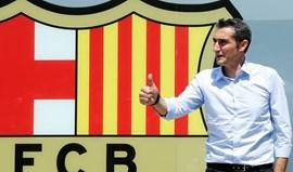 Ernesto Valverde: «Quero que os adeptos fiquem orgulhosos do Barcelona»