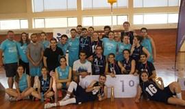 Universidade de Aveiro conquista nacional universitário de corfebol
