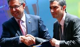 Ernesto Valverde apresentado em Camp Nou: «É um desafio apaixonante»