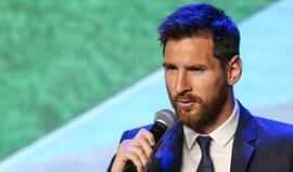 Messi: «Não sei como trabalha Valverde»