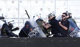 PAOK e AEK punidos após violentos desacatos na final da Taça grega