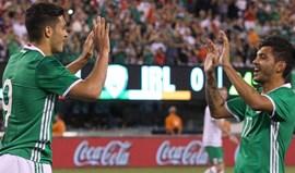 México vence Rep. Irlanda com golos de Corona e Jiménez