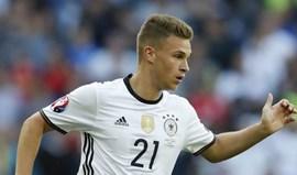 Alemanha empata na Dinamarca em jogo de preparação