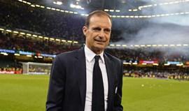 Juventus renova contrato com Allegri