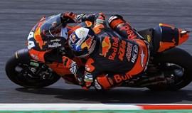 Moto2: Miguel Oliveira em 3.º nos treinos livres da Catalunha