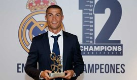 Ronaldo já começou a amealhar prémios...