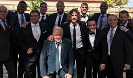 Casamento de Valdés junta antigos colegas
