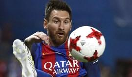 Renovação de Messi deve ser anunciada na próxima semana