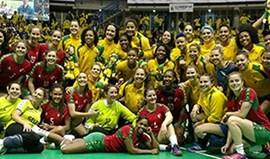 Seleção feminina em segundo no Torneio das 4 Nações