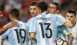 A estranha tática da Argentina e Salvio... como médio-interior