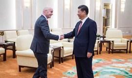 Presidente da China reuniu-se com Infantinno