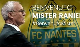 Claudio Ranieri oficializado pelo Nantes